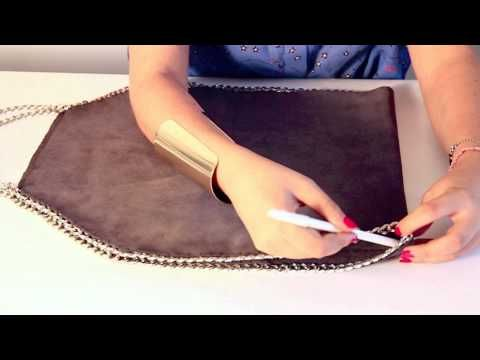 Making a leather carry all briefcase and or purse - YouTube