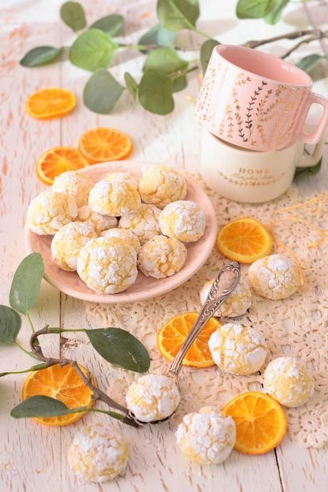 Zarte Orangen Bacios – Soft Amarettinis