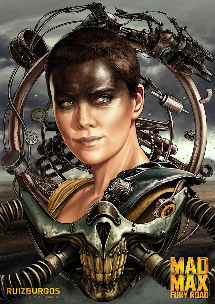 Mad Max: Fury Road - Imperator Furiosa by Ruiz Burgos