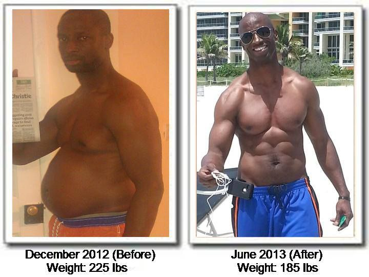Weight loss success stories using all-natural products