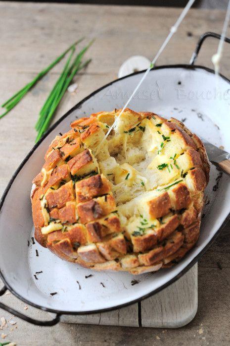 Pain dégoulinant de fromage gourmandises recettes Repas rigolos - cuisine diversification recettes de cuisine Recipes- Food - diversification