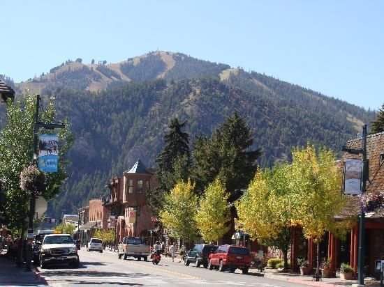 Sun Valley Resort & Ketchum Idaho - I lived here for one summer and this place is truly breathtaking.  Worked for a local designer Bobby Burns. Good times.