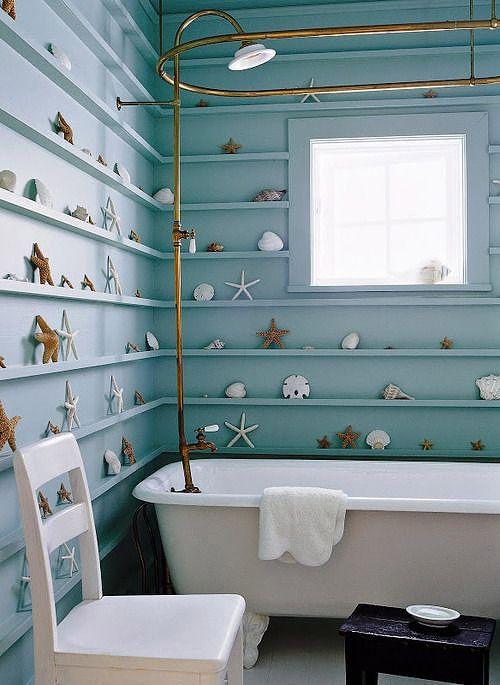 Coastal style, image by Domonique Vorillon for Elle Decor