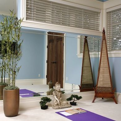 Home Yoga, create a room for you!