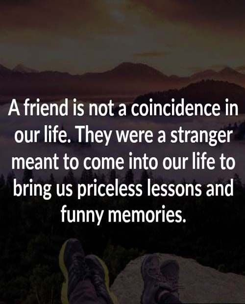 Friends give priceless lesson