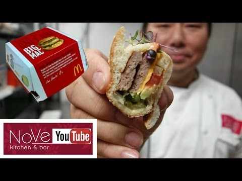 Big Mac Sushi If you thought a California Roll was as far from authentic sushi as it could get, you'd be wrong.   In a YouTube video uploaded earlier this month, Miami-based sushi chef Hiroyuki Terada creates futomaki using a McDonald's Big Mac. The concept is undeniably ridiculous, but we'd be lying if we said we didn't want to try it.