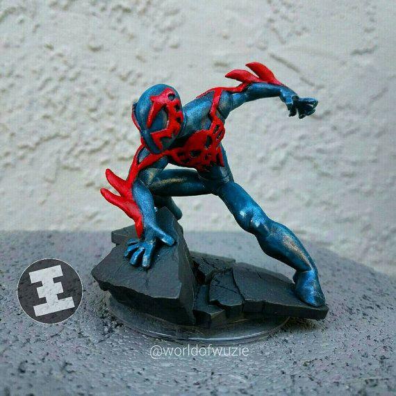 Marvel Spiderman 2099 Custom Disney Infinity Figurine
