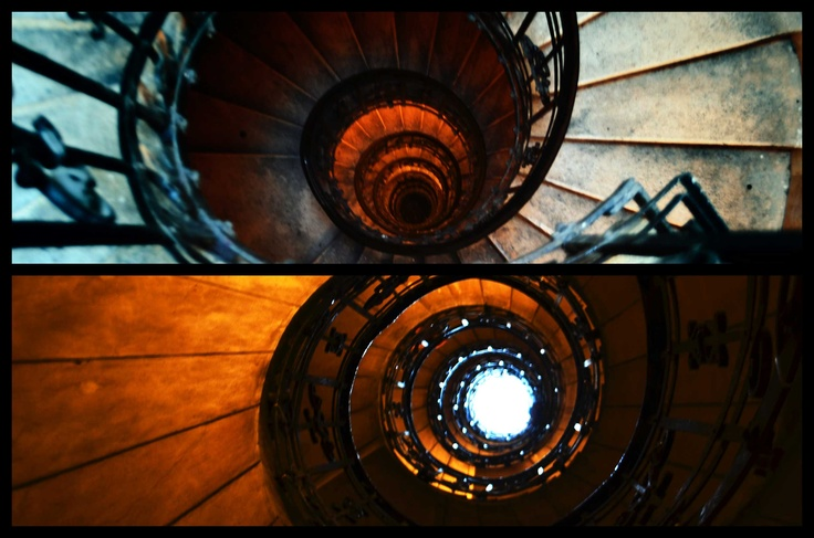 Stairs in St. Stephen's Basilica, Budapest