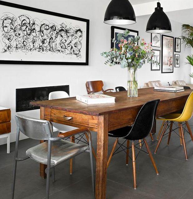 Decandyou Ideas De Decoracion Y Mobiliario Para El Hogar Estilos TendenciasBlog Black Dining RoomsFarmhouse TableFrench FarmhouseModern