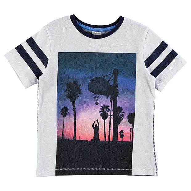 Boys' Short Sleeve Basketball T-Shirt