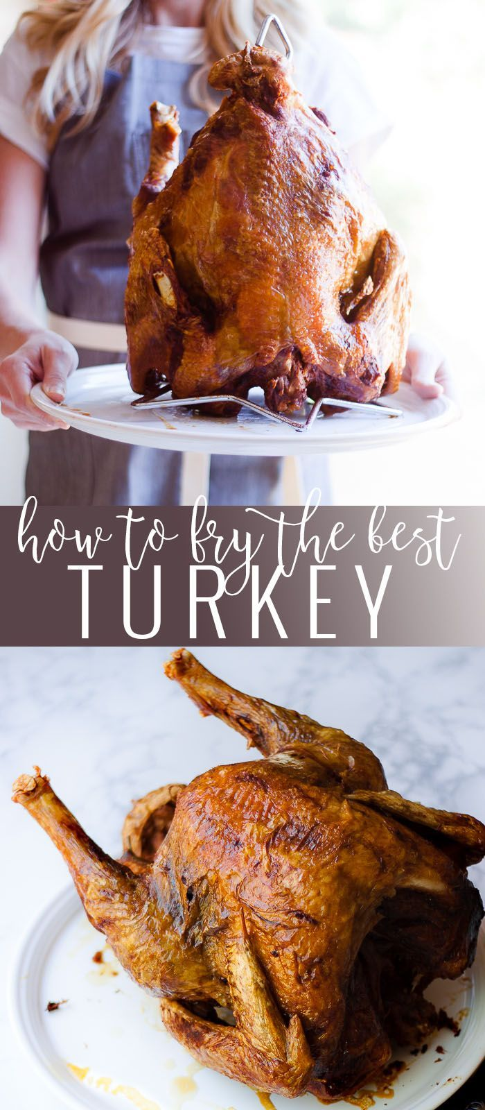 How to Fry The Best Turkey | how to fry a turkey | turkey frying tips and tricks | thanksgiving turkey recipes | fried turkey recipes | how to make a fried turkey | thanksgiving tips and tricks || Oh So Delicioso #friedturkey #turkeyrecipe #thanksgiving #friedturkeyrecipe