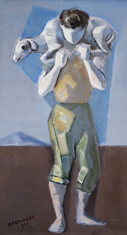 Portal Portinari - Menino com Carneiro - 1953