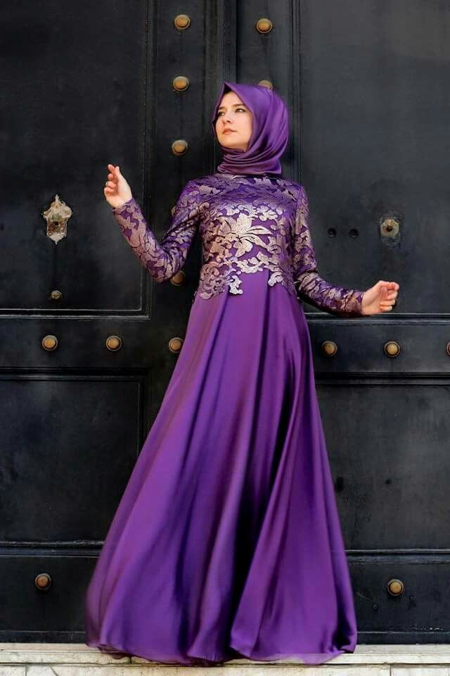 Hijab Style for bridesmaid attire idea
