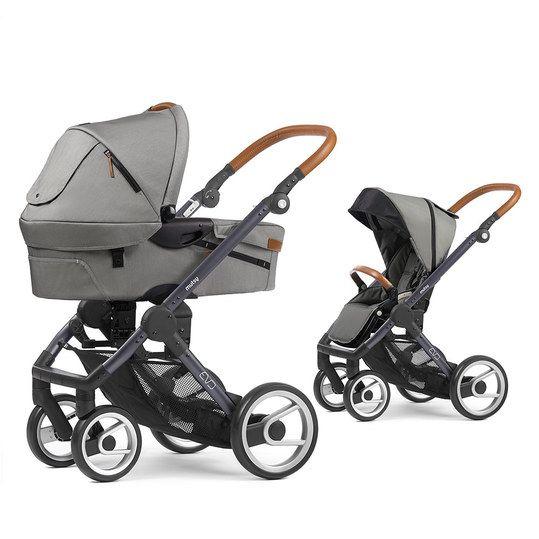 Mutsy - Kombi-Kinderwagen EVO Gestell Grau Urban Nomad - Light Grey - Babyartikel.de