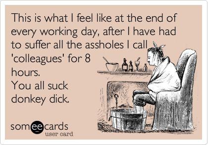assholes at work