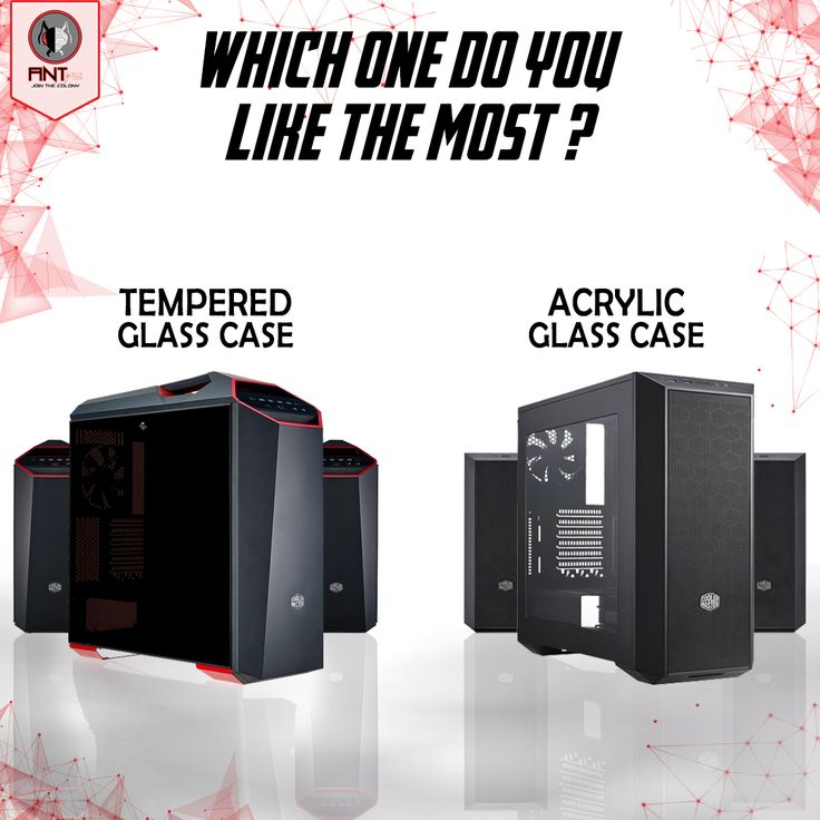 PC chassis plays a crucial role than you imagine and to choose the right one is a monumental decision! Which one do you like the most? Let us know in comment section. #TemperedorAcrylic