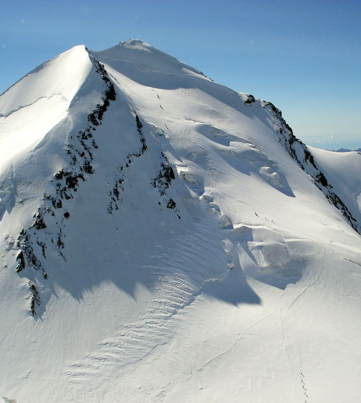Castor, 4228m, Pennine Alps, Switzerland. Summer 2008.