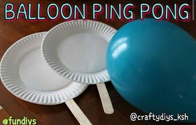 Baloon Ping pong