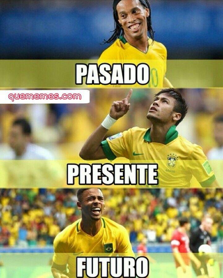 Las leyendas y promesas del futbol brasileño. Sigueme para mas  Visita nuestra web #meme #memesespañol #memes #funny #wtf #momos #humor #love #frases #comedía #friends #amigos #amor #brasil #futbol #soccer #neymar