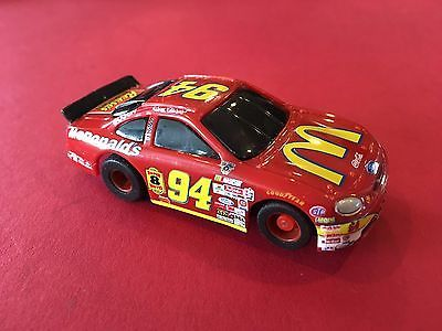VINTAGE NASCAR SLOT CARS NICE  # 94  MCDONALDS FORD TYCO SLOT CAR