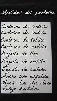 PATRONES DE COSTURA : PATRON BASICO DE PANTALON