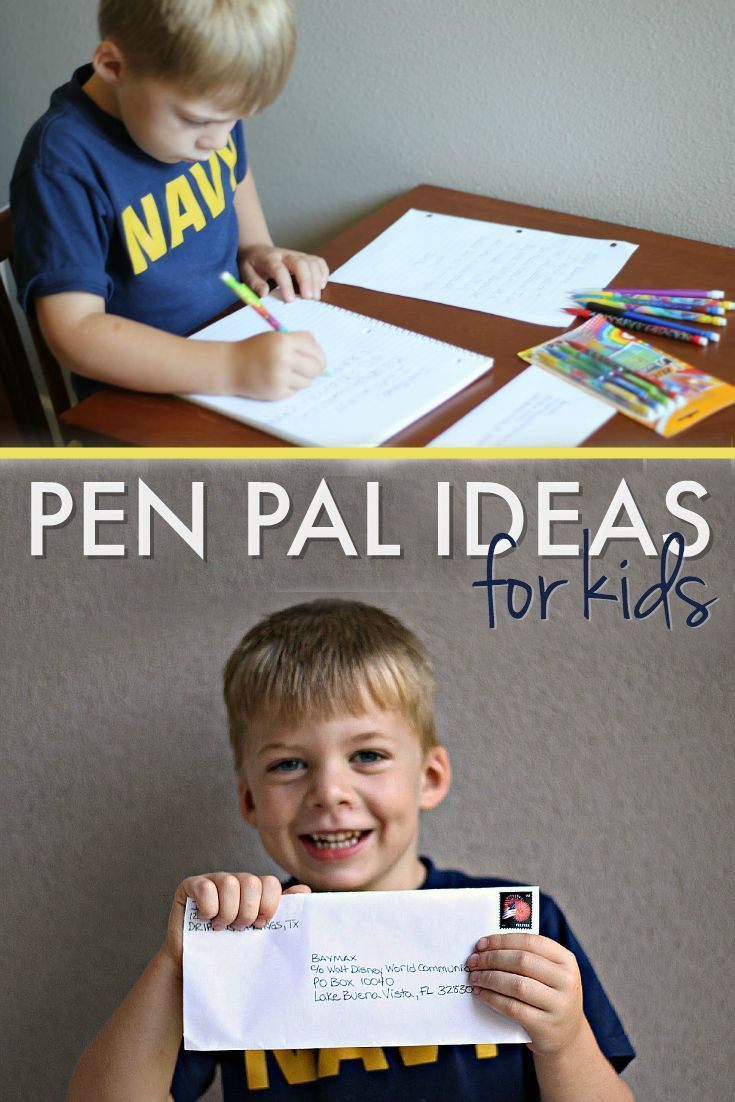 Pen Pal Writing Tips and Resources For Kids   Simply Vicki Pinterest