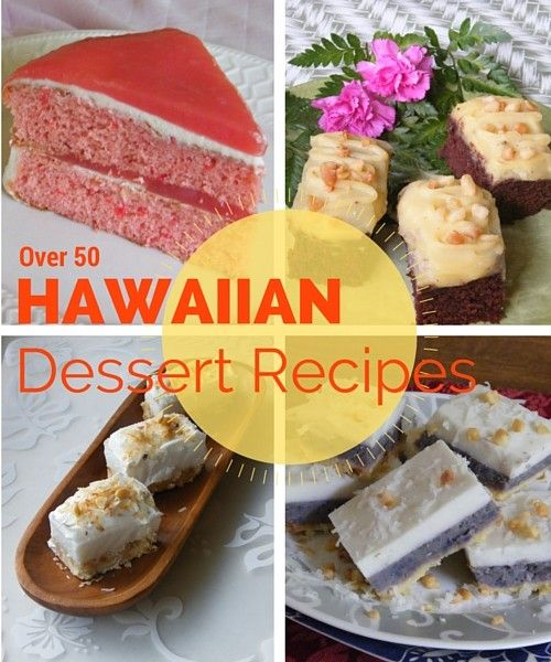 Delicious and easy local style Hawaiian Desserts. Get recipes for haupia, lilikoi and more favorite dessert recipes.