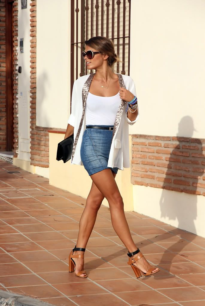 Overall, cute look. Want the shoes!
