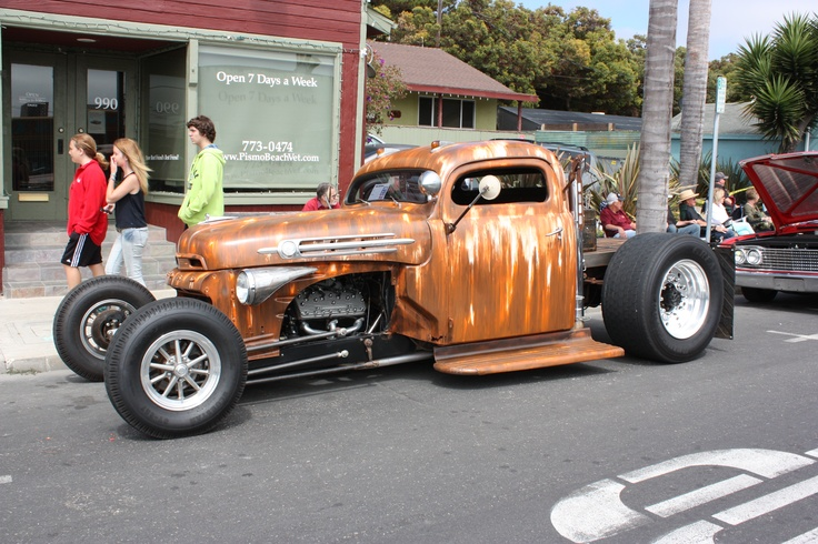 Pismo Beach Fathers Day Car Show