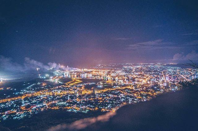 Port Louis - where Legends are found. IYKWIM. :P  Capital city seen from Signal Mountain. . . . #portlouis #porlwi #capitalcity #mauritius #airmauritius360 #mauritius365 #mauritiusisland #lights #night #cityscape #presetcc #expofilm #nikon #nikontop by (yat_rdrs). traveltheworld #livetravelchannel #mauritiusisland #globewanderer #portlouis #vacation #simplyadventure #mauritius #nikon #vacationwolf #getaway #igtravel #porlwi #night #ig_masterpiece #beautifuldestinations #exploringtheglobe…