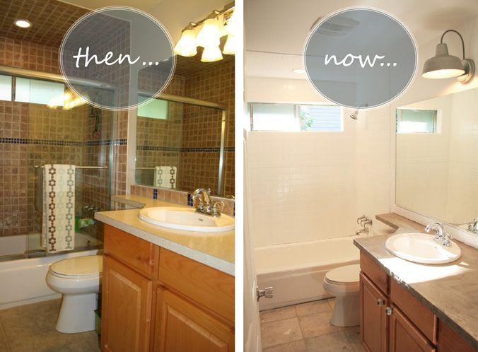 Refinish Bathroom Tile Magnificent Decorating Inspiration
