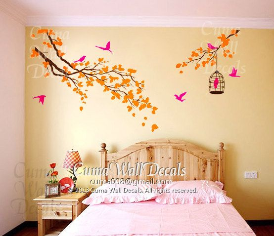 13 best tree wall decal images on Pinterest | Wall clings, Murals ...