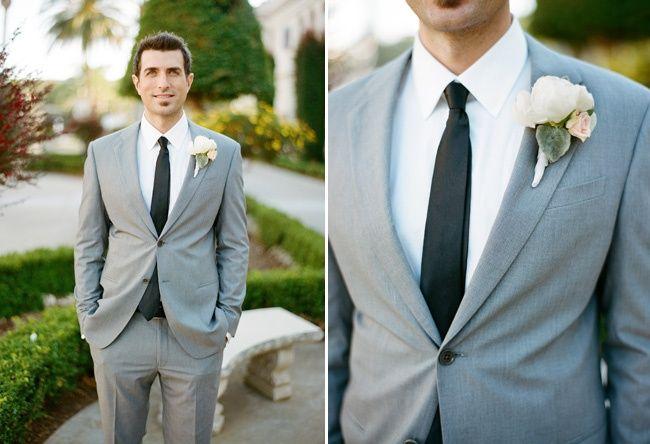 Grey Groom Suit | Midway Media