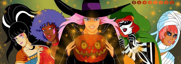 Jem And The Holograms Halloween by sunnyday2000