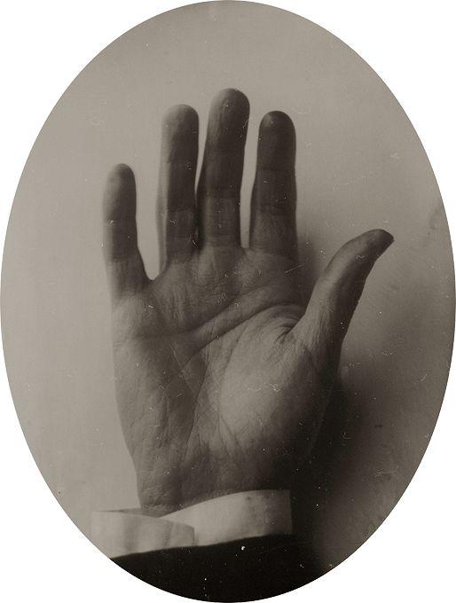 'Hand' series Ghosting - Ben Cauchi 2004