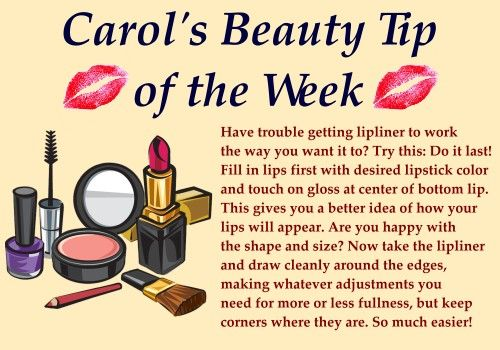 "Time for this week's beauty tip. Do you have any makeup or beauty questions you would like me to answer? Post your question here or on my facebook page and I may answer it in a future ""tip of the week"".  #beauty #makeup #lips #lipliner"