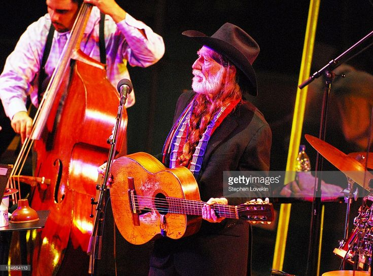 Willie Nelson during Willie Nelson and Wynton Marsalis in Concert Jazz At Lincoln Center in New York City at Jazz At Lincoln Center in New York City, New York, United States.