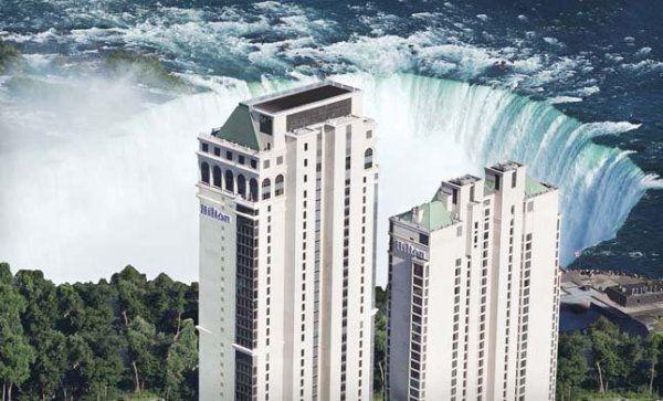 Hilton hotel and suites Niagara falls/Ontario,Canada