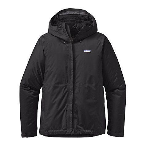 Buy Patagonia Torrentshell Waterproof Insulated Men's Jacket, Black Online at johnlewis.com