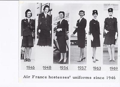 Air France uniforms