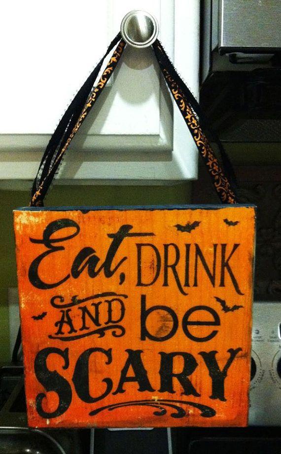 Halloween Kitchen Sign