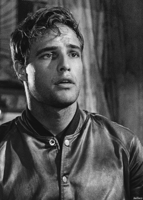 Marlon Brando in A Streetcar Named Desire (Elia Kazan, 1951) way too attractive.