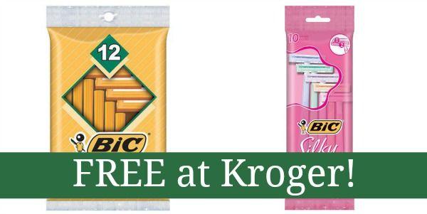 FREE Bic Razors at Kroger!