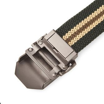 125CM Men Canvas Belt Thickening Alloy Buckle Pants Strip at Banggood