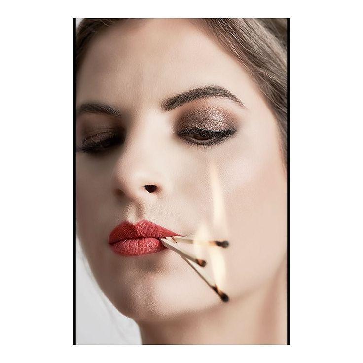 This #Girl is on #Fire @cleaformaz shot for @miss_earth_schweiz #Editorial featured @obscuraemagazine #beauty #makeup @kets_akademie @byortiz_  #editorialphotography #fashioneditorial #redlips #portraitperfection #portraitoftheday #portrait