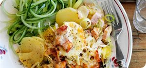 Cheesy ham and potato hash – Recipes – Slimming World: Hams Hash ...