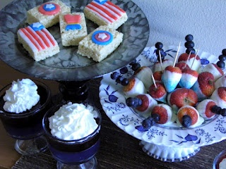 Captain America Party food