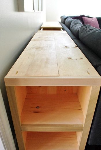 How To Build A Console Table (Part Two)