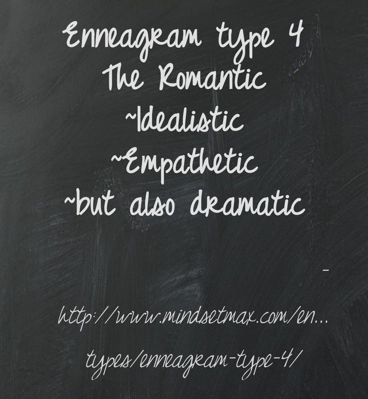 enneagram type 4 love match The reformer, the giver, the performer, the individualist what is your enneagram type find out in our comprehensive free enneagram test.