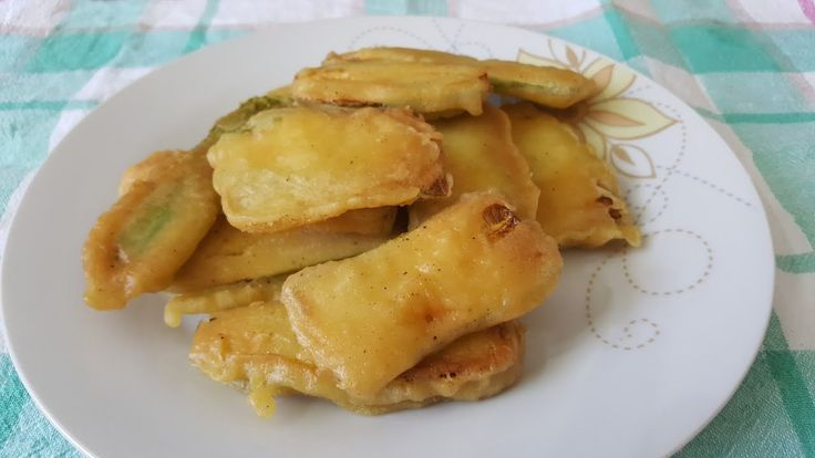 Fried courgettes!!!